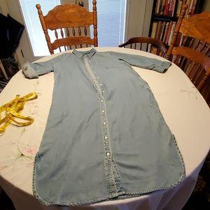 Lauren Ralph Lauren ling denim dress